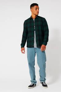 America Today geruit regular fit overhemd Hector  midnight green, Midnight green