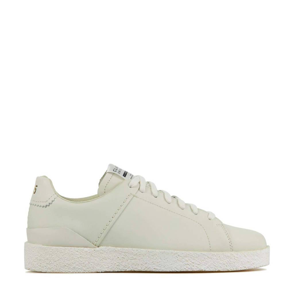 Clarks Originals Tormatch  leren sneakers off white, Ecru / Off white