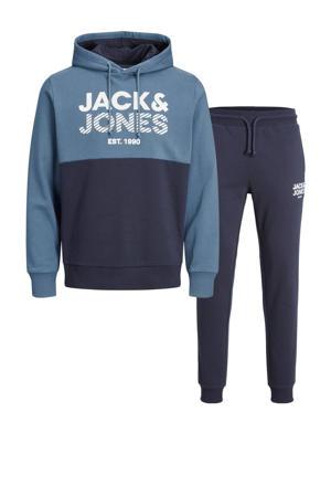 hoodie + joggingbroek JJMILLER Ensign Blue