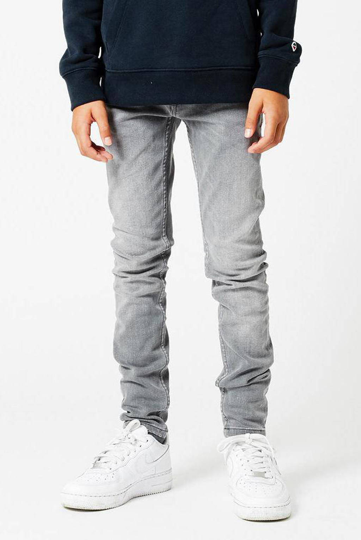 America Today Junior skinny jeans Keanu  grijs stonewashed, Grijs stonewashed