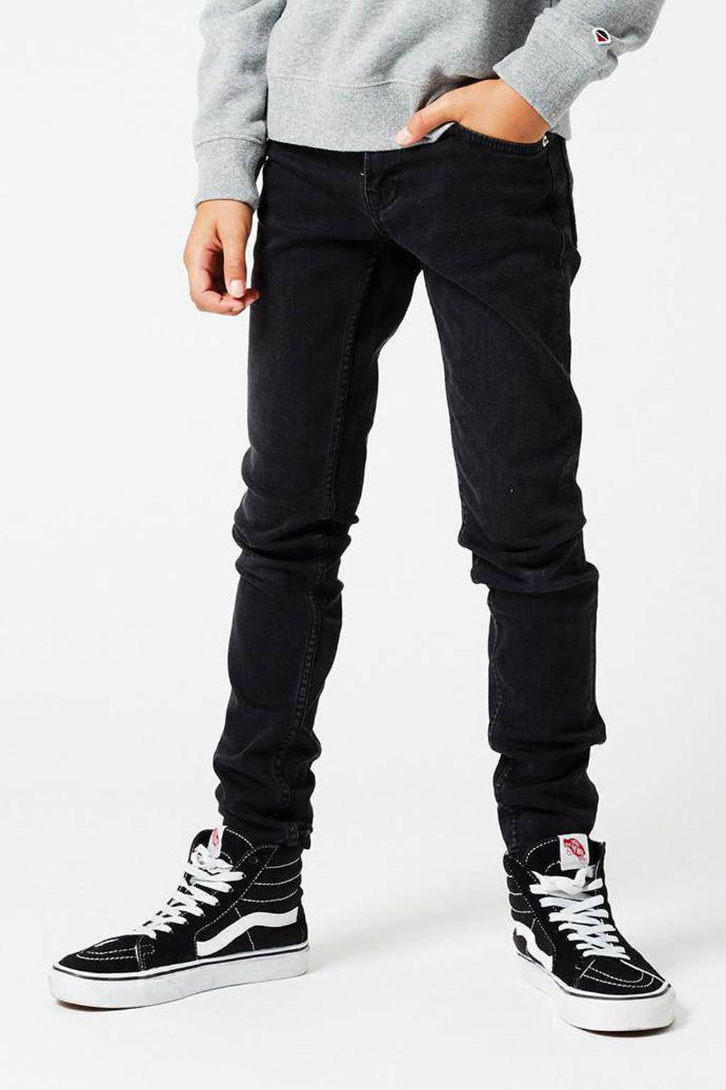 America Today Junior skinny jeans Keanu  zwart, Zwart