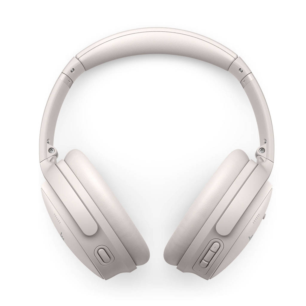 Bose QuietComfort 45 draadloze over-ear hoofdtelefoon (wit), Wit