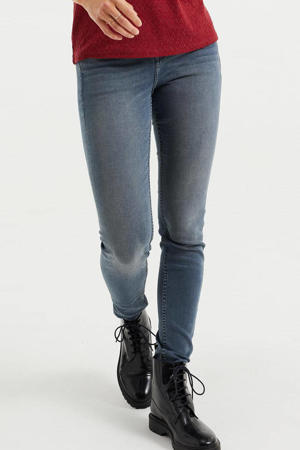 super skinny jeans grijsblauw