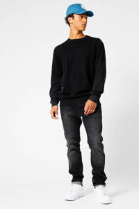 America Today trui Keith  washed black