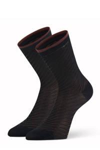 Marcmarcs sokken Amber - set van 2 zwart, Zwart