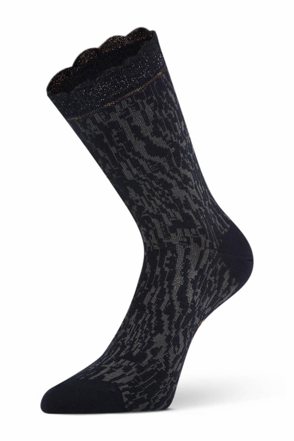 Marcmarcs sokken Nicola antraciet, Antraciet