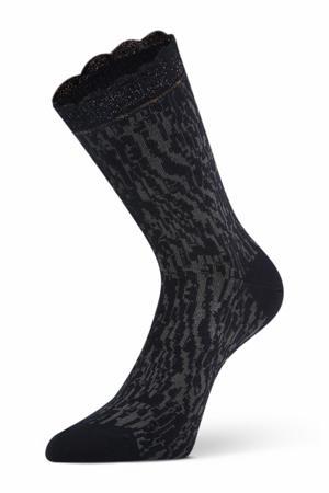 sokken Nicola antraciet