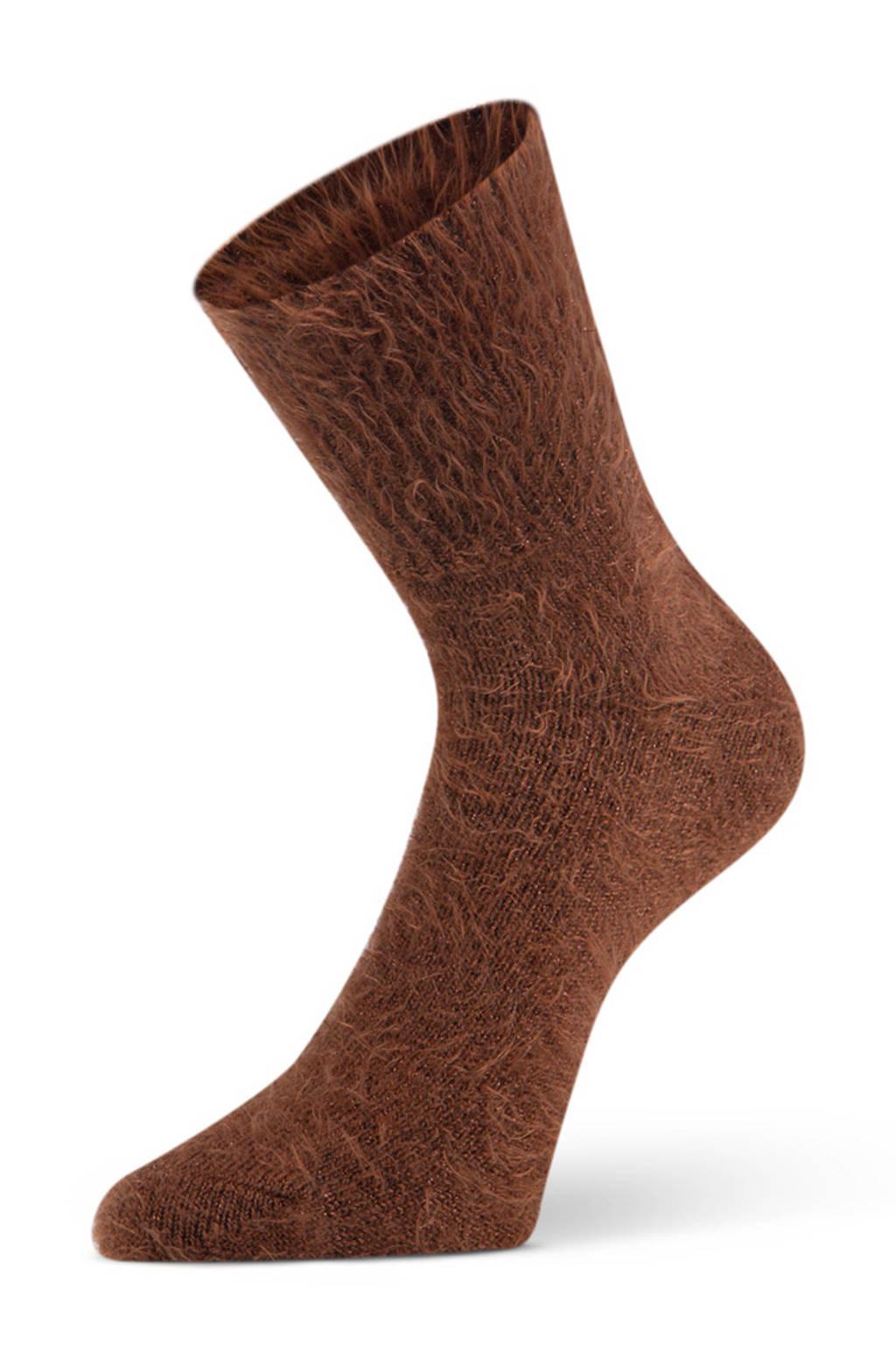 Marcmarcs sokken Alexia bruin, Bruin