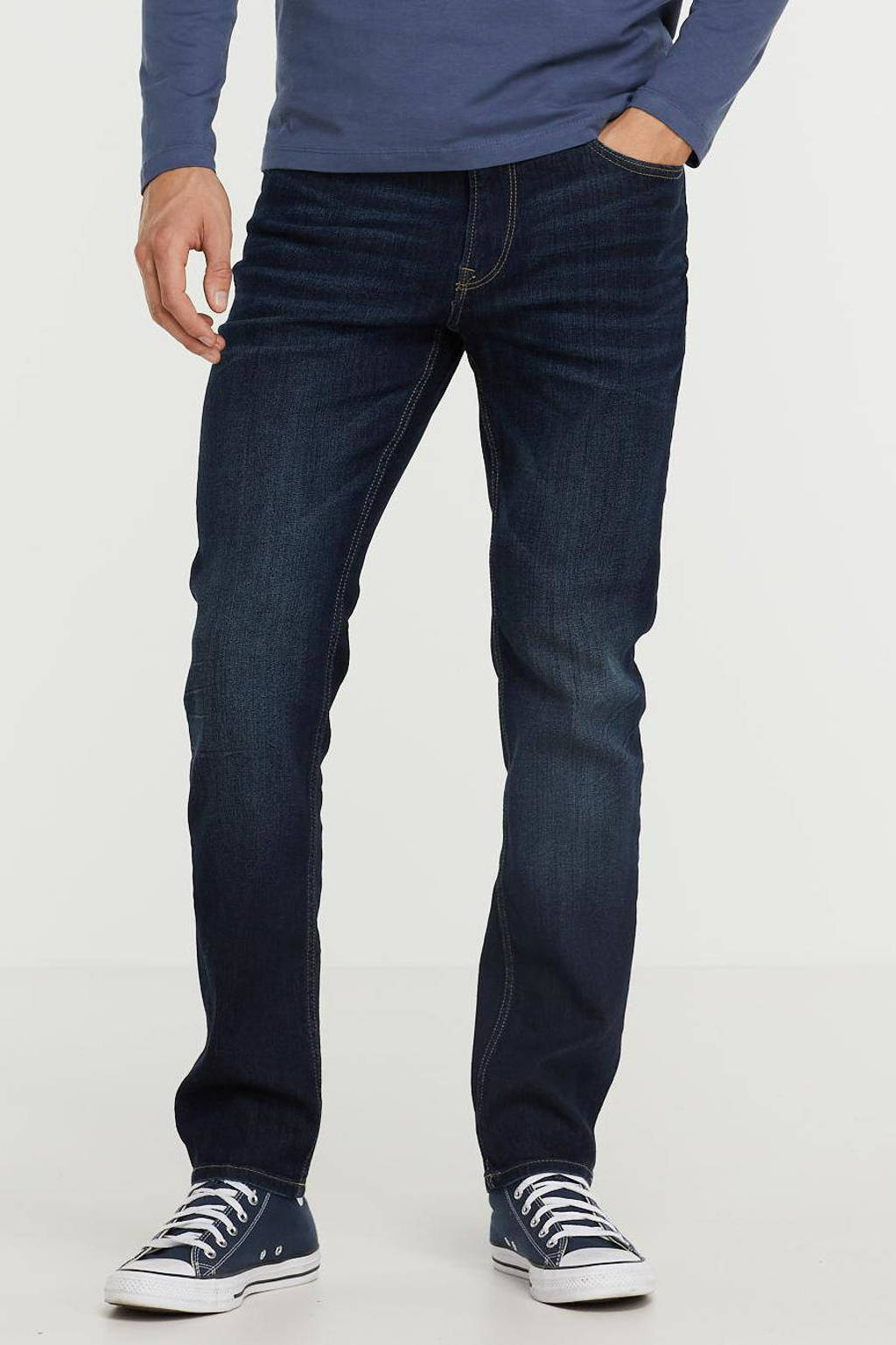 PRODUKT slim fit jeans dark blue denim, Dark blue denim