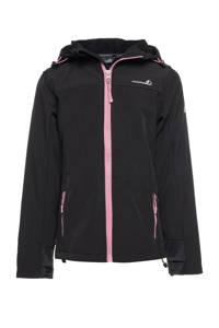 Scapino Mountain Peak kids outdoor jas zwart, Zwart