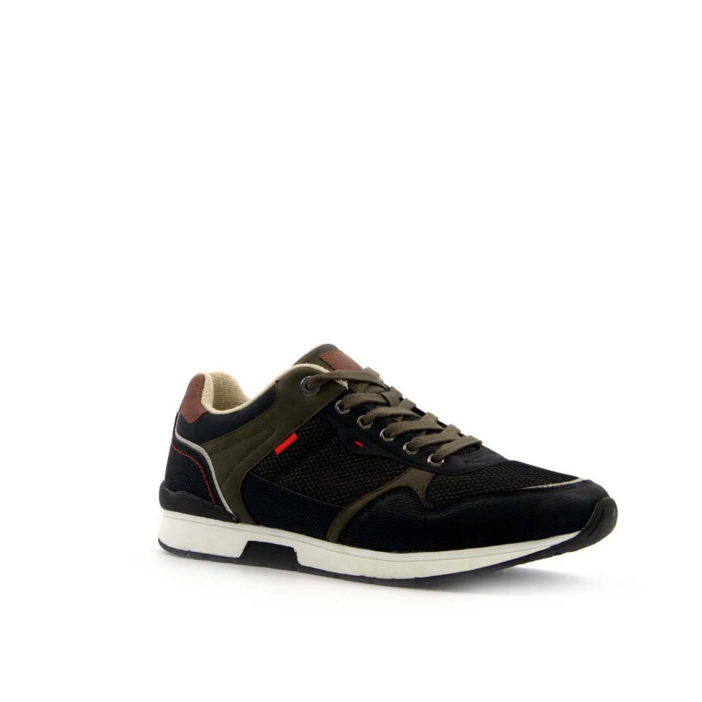 Scapino Blue Box   sneakers zwart, Zwart