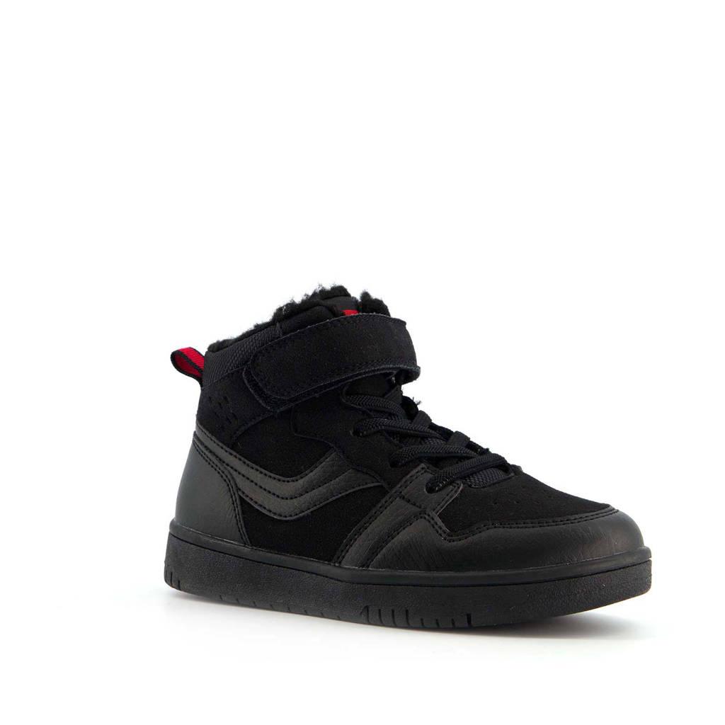 Scapino Blue Box   hoge sneakers zwart, Zwart