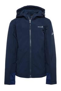 Scapino Mountain Peak kids outdoor jas donkerblauw, Donkerblauw