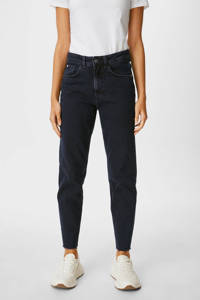 C&A high waist mom jeans donkerblauw, Donkerblauw