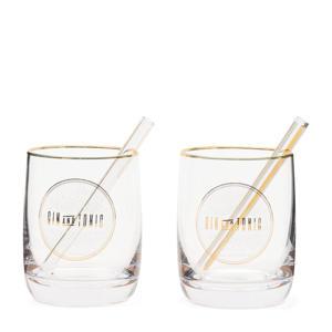 gin & tonic set Le Club (set van 2)