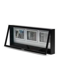 Riviera Maison opbergbox RM Lovely Memory, Zwart, wit
