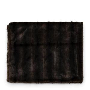 plaid Vintage Faux Fur