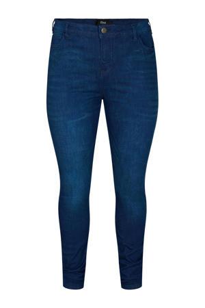 high waist skinny jeans JAMBER AMY dark denim