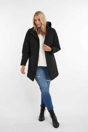 softshell jas zwart