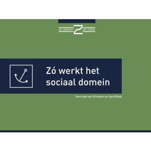 Zó werkt het sociaal domein - Gertrude van Driesten en Sara Blink