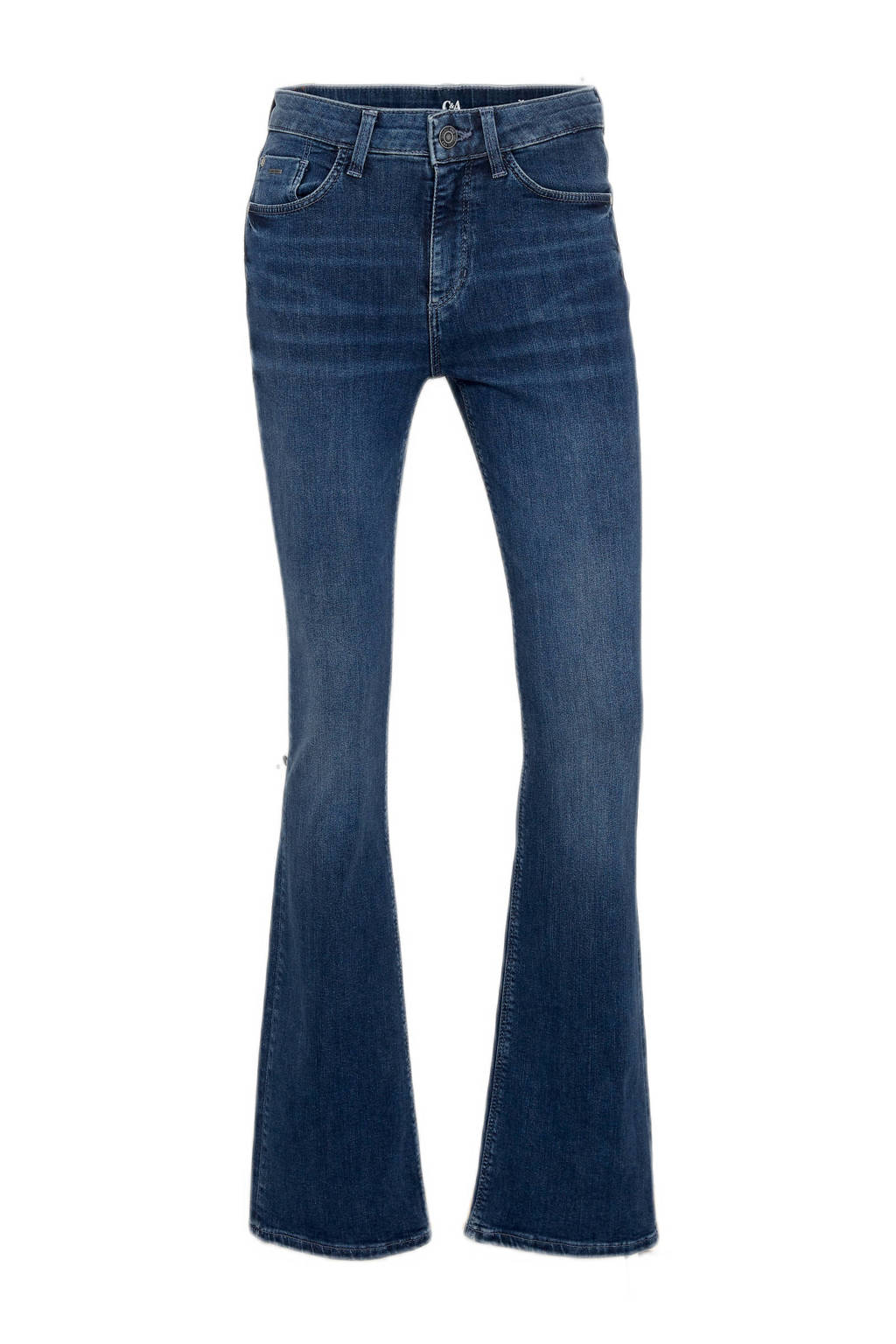 C&A bootcut jeans donkerblauw, Donkerblauw