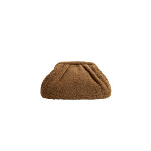 teddy clutch bruin