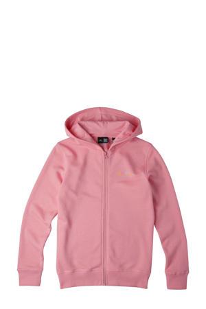 vest All Year met logo roze