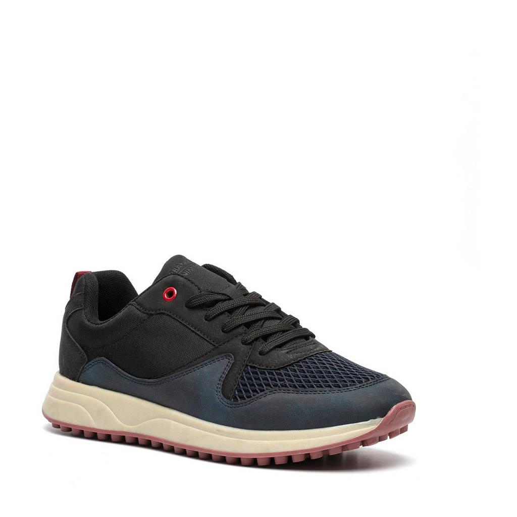 Scapino Blue Box   sneakers blauw/zwart, Blauw/zwart
