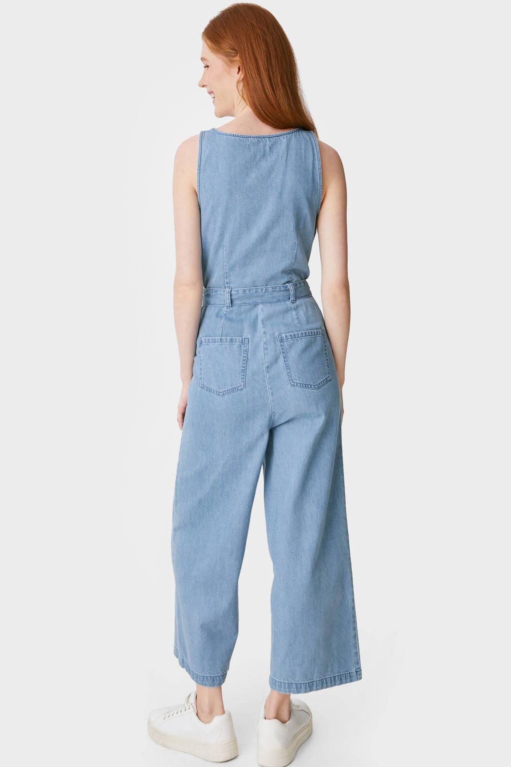 C&A Clockhouse jumpsuit lichtblauw, Lichtblauw
