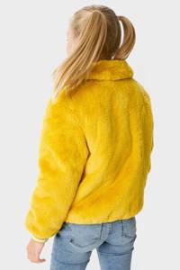 C&A imitatiebont bomberjack winter geel, Geel