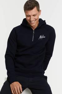 Malelions hoodie met logo navy, Navy