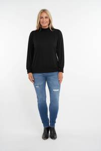 MS Mode top zwart, Zwart
