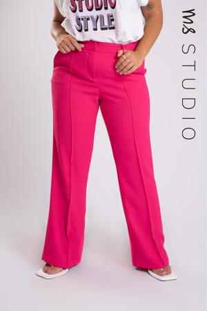 flared pantalon roze
