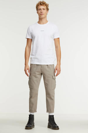 T-shirt met logo white