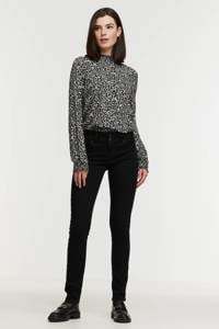 LTB high waist slim fit jeans MOLLY M black to black wash, Black to black wash