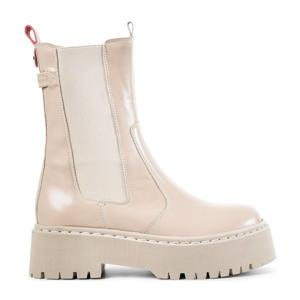 Gibson  leren chelsea boots beige