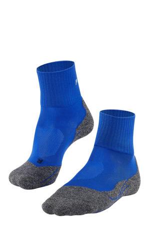 TK2 Cool Short wandelsokken blauw/grijs