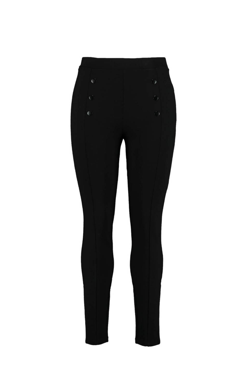 MS Mode Plus Size tregging zwart, Zwart