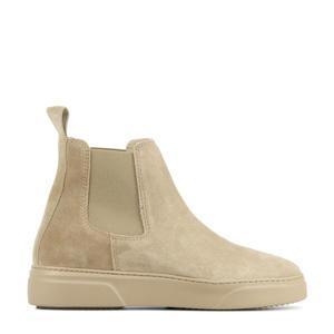 57136 Juno Levy  suède chelsea boots beige