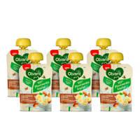 Olvarit 100 % Plantaardige Amandeldrink Banaan smoothie