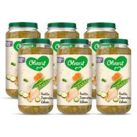 Olvarit Risotto Doperwten Kalkoen - babyhapje voor baby's vanaf 18+ maanden - 250 gram babyvoeding in een maaltijdpotje