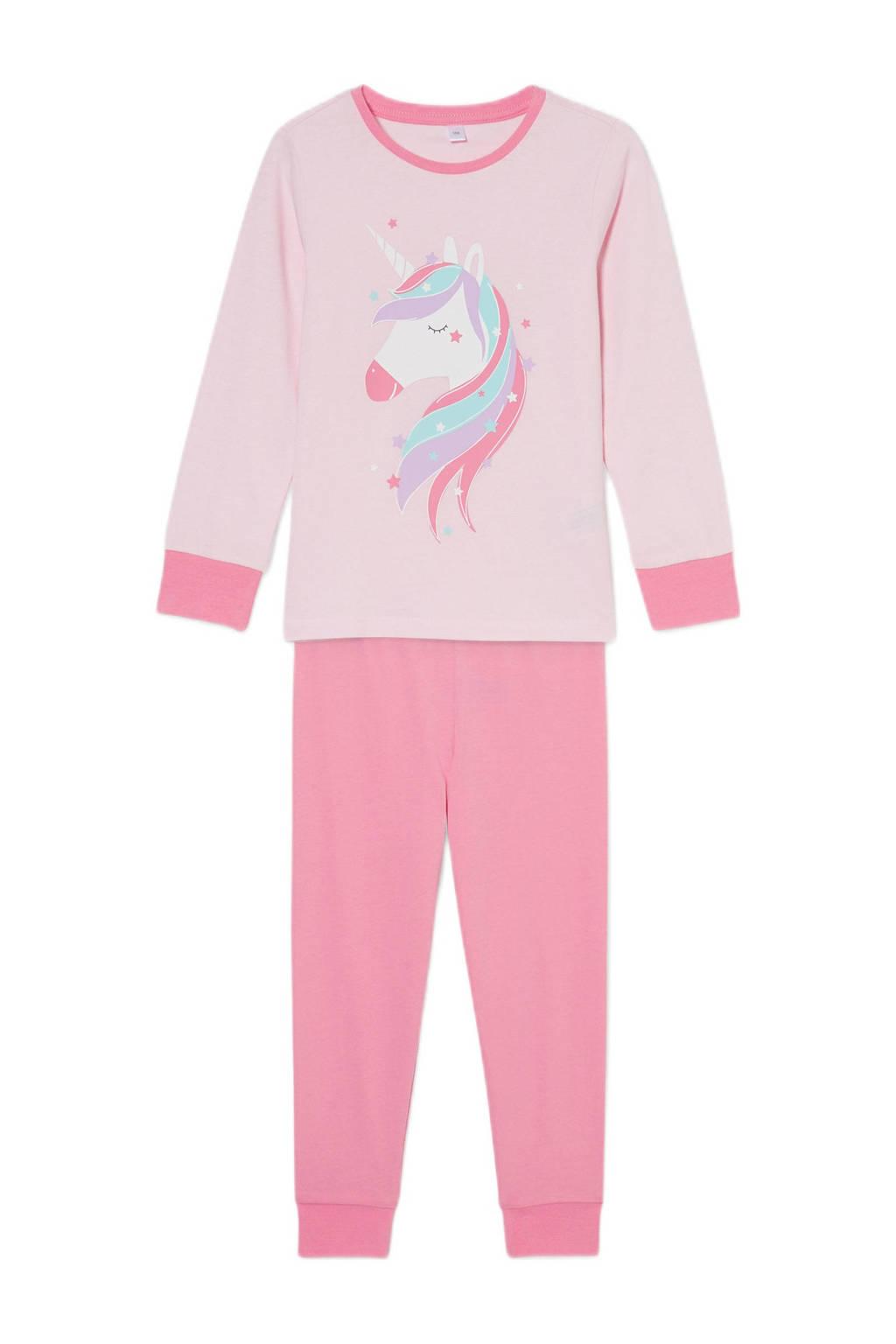 C&A pyjama met printopdruk roze, Roze