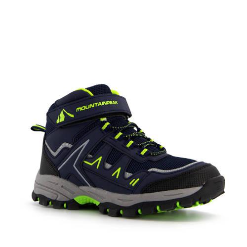 Scapino Mountain Peak wandelschoenen donkerblauw/groen kids