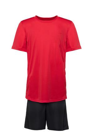 sportset rood/zwart