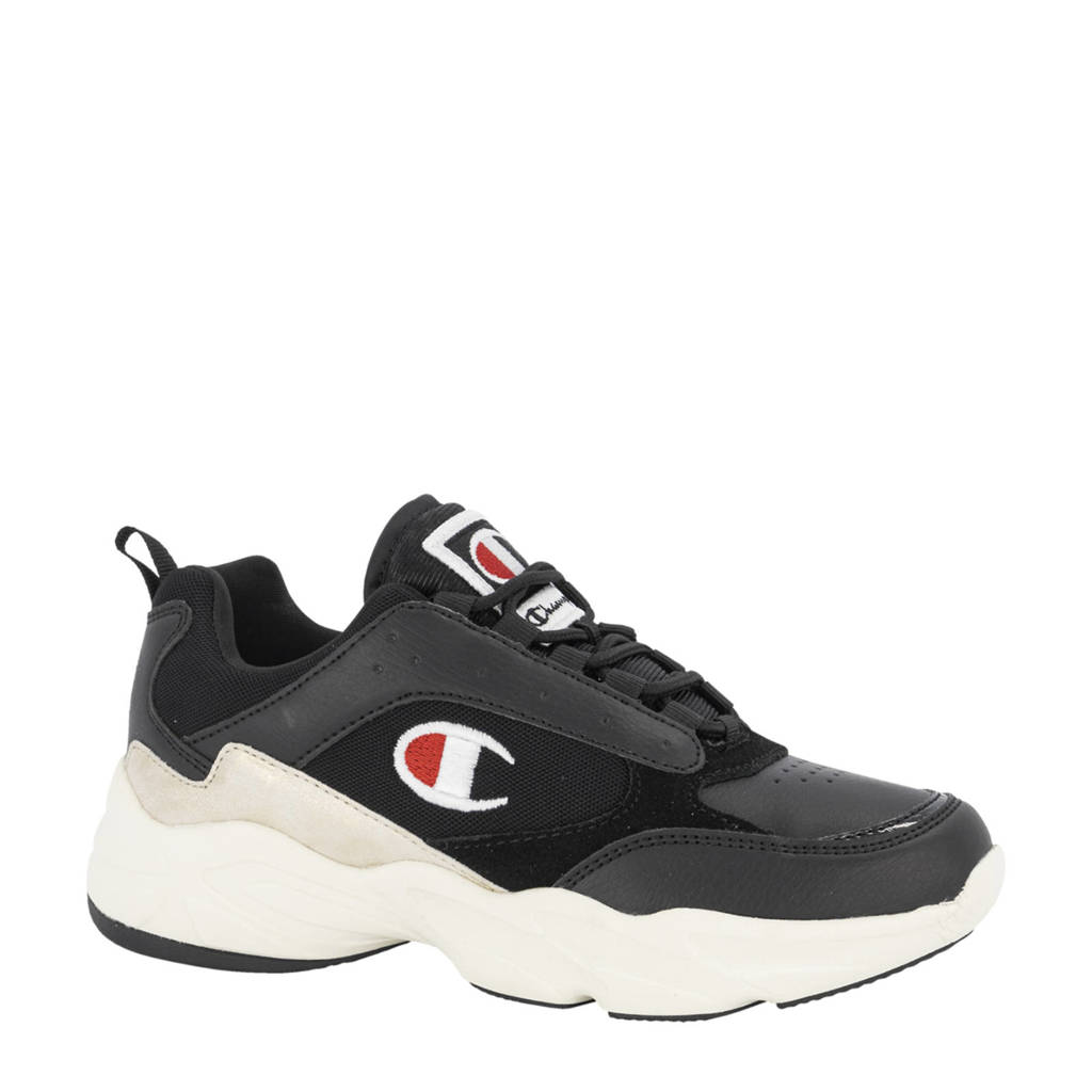 Champion Akron Women Low  chunky sneakers zwart, Zwart