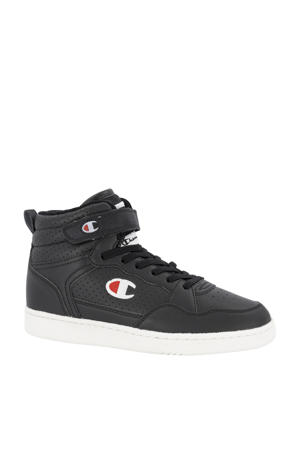 Palm Lake Velcro Mid JR  hoge sneakers zwart