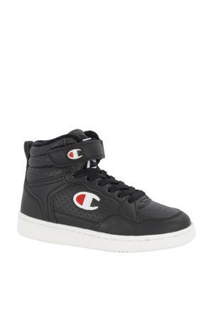 Palm Lake Velcro Mid  hoge sneakers zwart