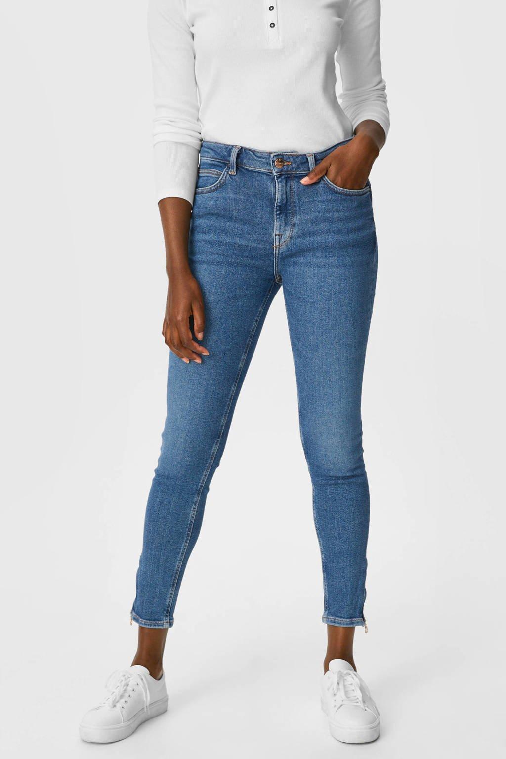 C&A skinny jeans dark denim, Dark denim