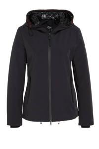 C&A softshell jas zwart, Zwart