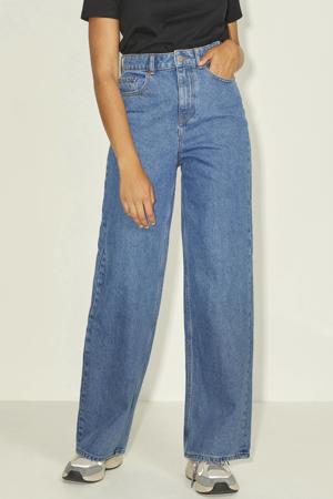 high waist wide leg jeans JXTOKYO medium blue denim